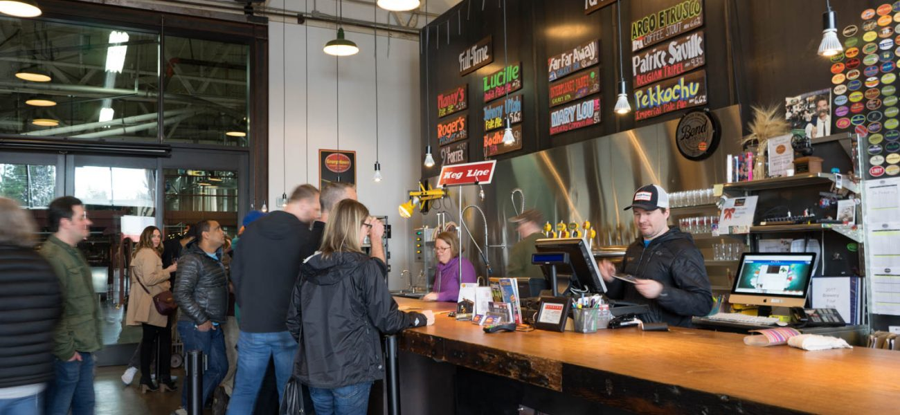Seattle weekend activity brewery hopping