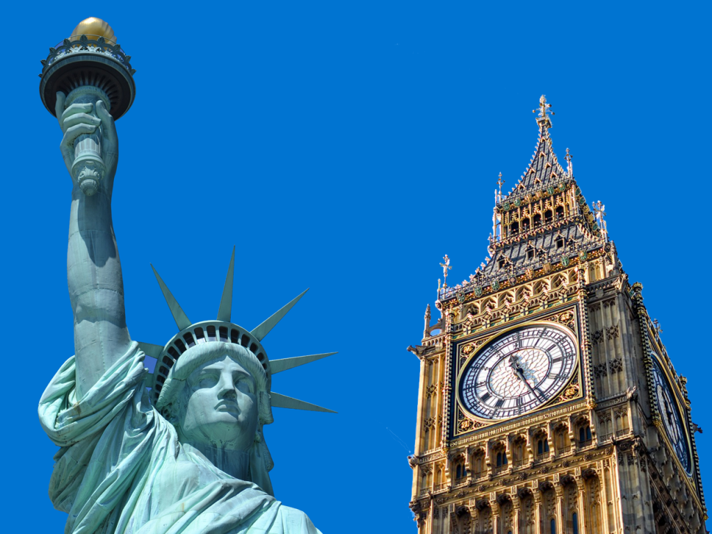 Differences between living in the US and the UK