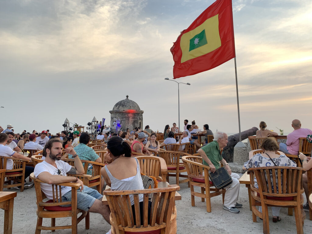 Cafe Del Mar Cartagena - things to do in Cartagena Colombia