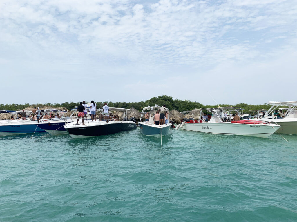 Cholon party island - best things to do in Cartagena