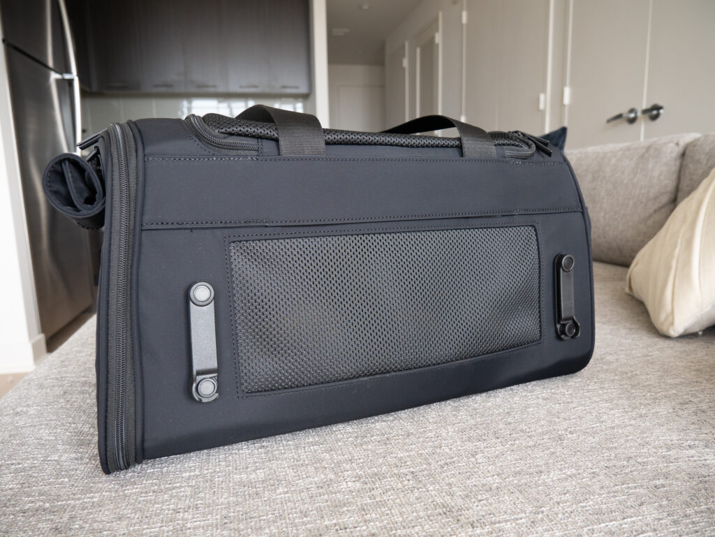 Away Pet Carrier back - luggage sleeve