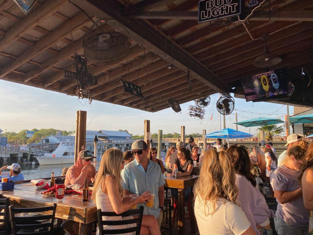 Tavern and Table in Shem Creek Charleston